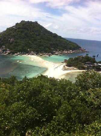 Nangyuan Island Dive Resort: 度假村俯视南园岛