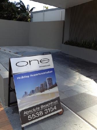 One The Esplanade: one