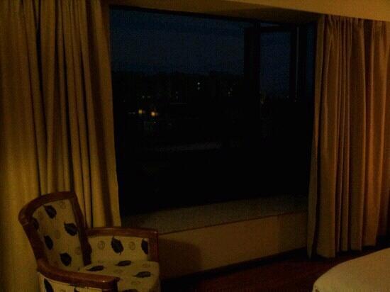 Foshan The Green Apartment Hotel: 晚上享受星星的快樂