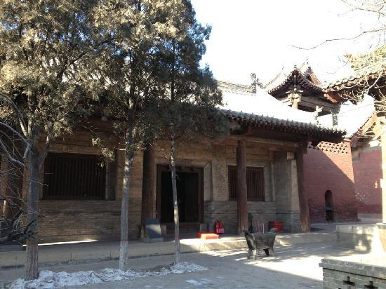 Shuanglin Tempel: 建筑