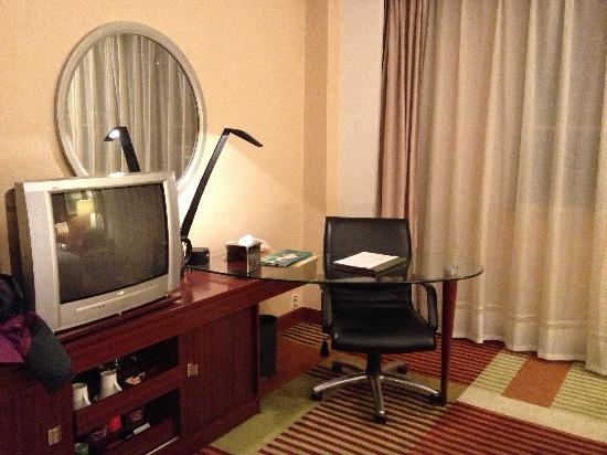 Huarui Danfeng Jianguo Hotel: 电视
