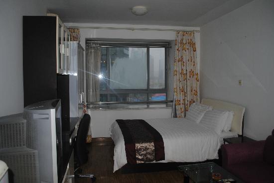 Sidijia Service Apartment Shanghai Shengtiandi: 我住的房间