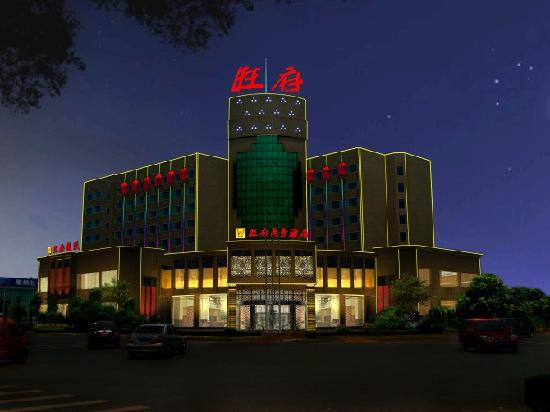 Yiyang Wangfu Business Hotel: 酒店外观