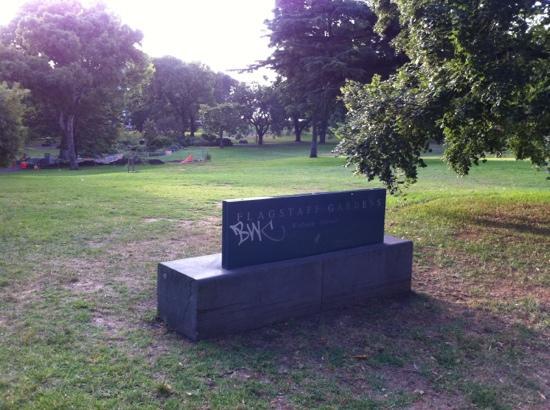 Flagstaff Gardens: 旗杆公园