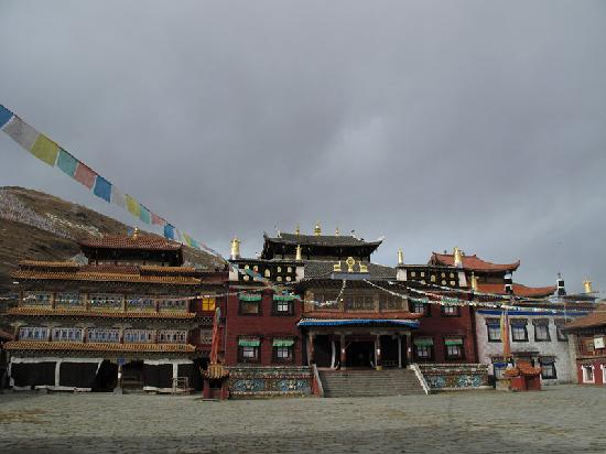 Tagong Temple (Lhagang Monastery): 塔公寺