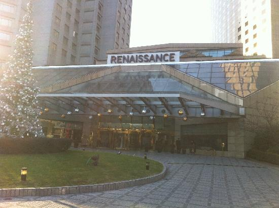 Renaissance Shanghai Yangtze Hotel: 酒店外观