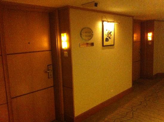 Renaissance Shanghai Yangtze Hotel: 走廊