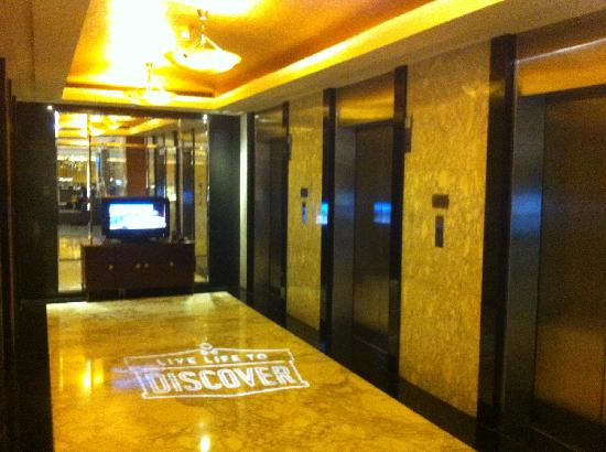 Renaissance Shanghai Yangtze Hotel: 电梯