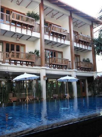 Vieng Mantra Hotel: 酒店的游泳池