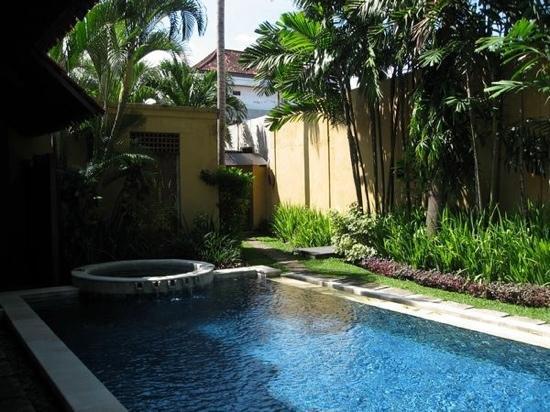 โรงแรมวิลล่า เดอ ดอน: 私家别墅泳池