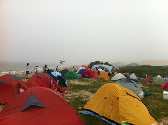 Jade Island: 海边扎营