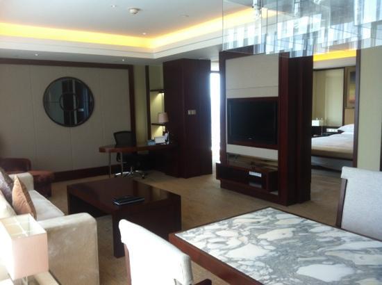 Sheraton Shanghai Hongkou Hotel: 巨大的套房