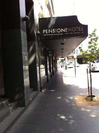 Pensione Hotel Melbourne - by 8Hotels: pen