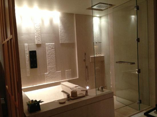 Park Hyatt Beijing: 奇葩的浴室