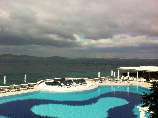 Mykonos Grand Hotel & Resort: 无敌海景 