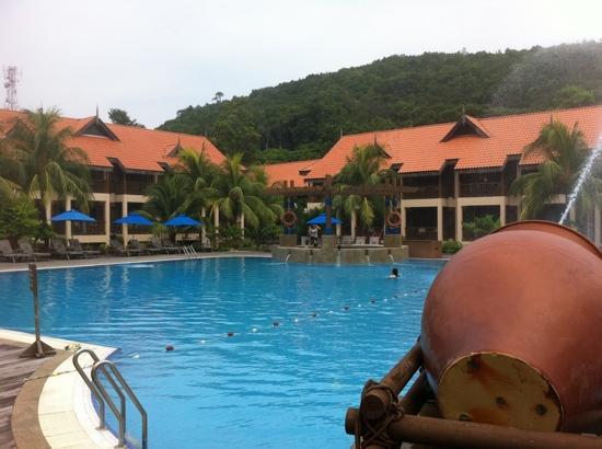 Laguna Redang Island Resort : 泳池