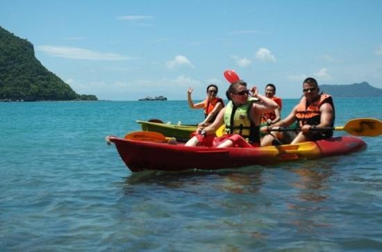 Kamalaya Koh Samui: 皮划艇