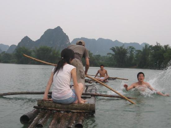 Du'an County, China: 古松洲