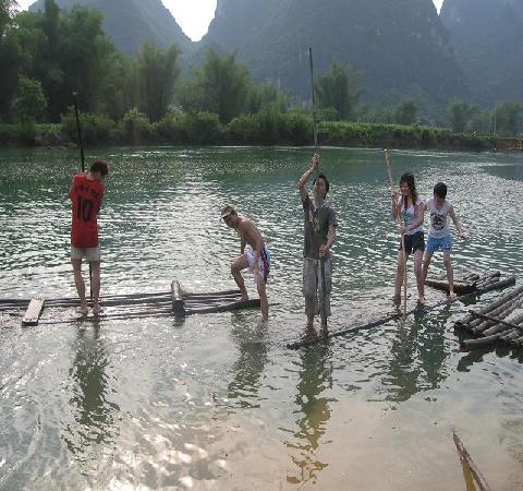 Du'an County, China: 古松洲风景不错