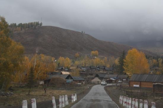 Kanas Lake Tuwa Village: 图瓦村
