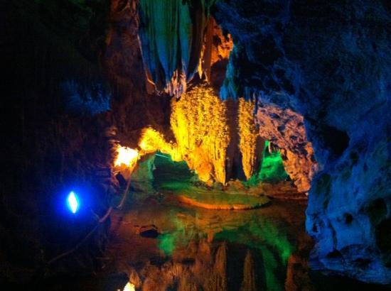 Zhangguan Water cave