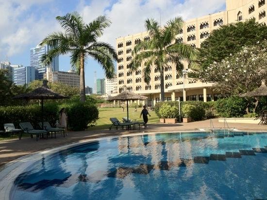 Dar es Salaam Serena Hotel: 酒店后院 