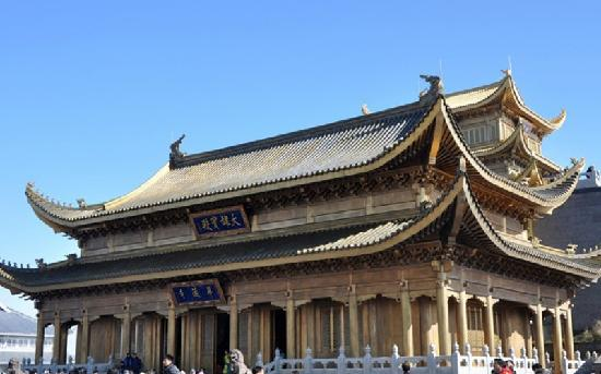 Huazang Temple : 华藏寺