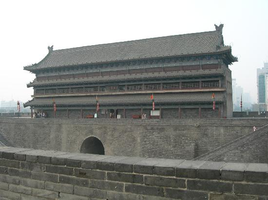 Xi'an City Wall (Chengqiang): 安远门