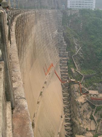 Ertanshui Hydroelectric Station : 二滩大坝