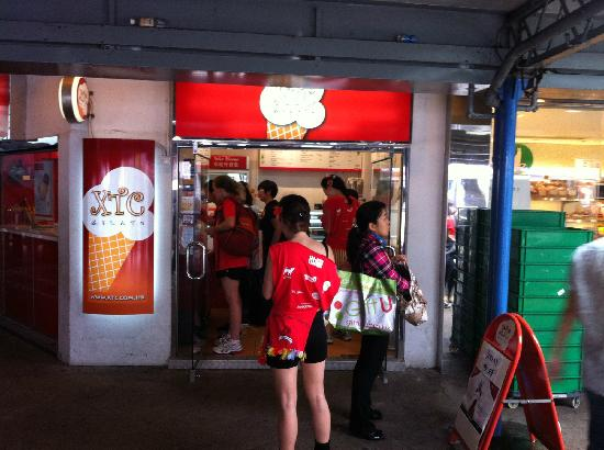 XTC on Ice Gelato: Just in Tsim Sha Tsui