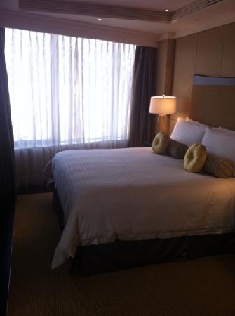 Hilton Bandung: 床很舒服