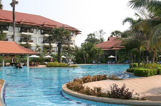 Angkor Palace Resort & Spa: 景观
