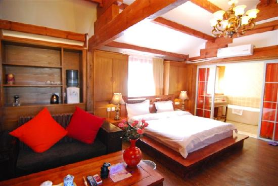 Zhenmei Holiday Inn Hemei: 森林房
