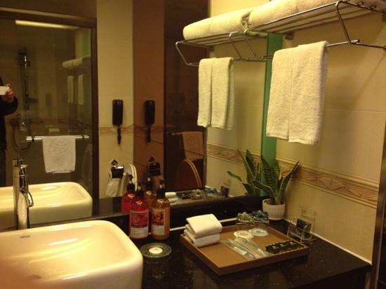 Baigao Business Hotel Guangzhou Baiyun Road : 洗手间