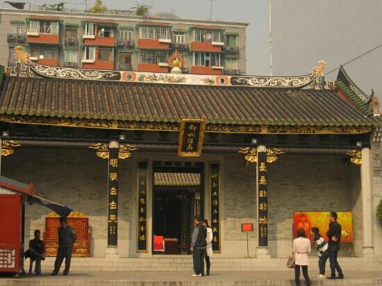 Guangzhou City God Temple: 有特色