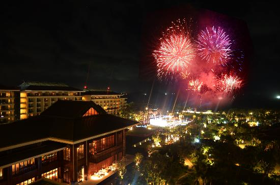 Haitang Bay Gloria Resort Sanya: 夜景