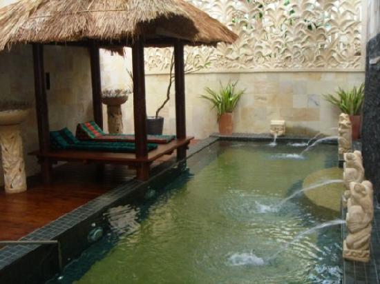 Xia Du Motel: 私人泳池