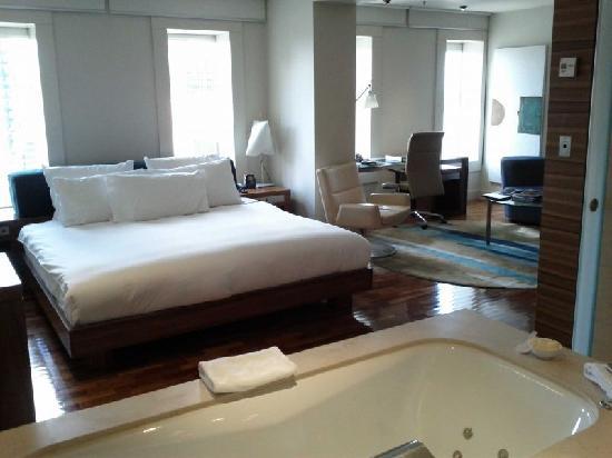 โรงแรมฮิลตันซิดนีย์: 房内