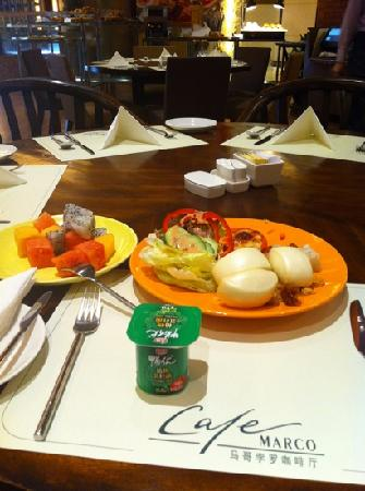 Marco Polo Hostel : 酒店早餐