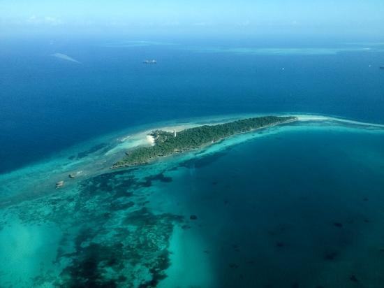 Zanzibar Ocean View: 飞机俯瞰桑给巴尔