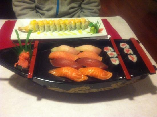 Sushi Ting: 寿司大餐,30刀