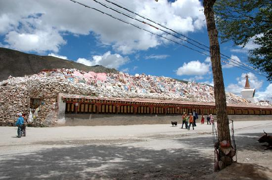 Yushu County, China: 经石城