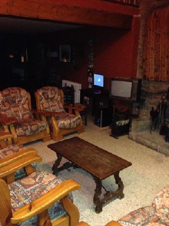 Hostal Estrella: living room