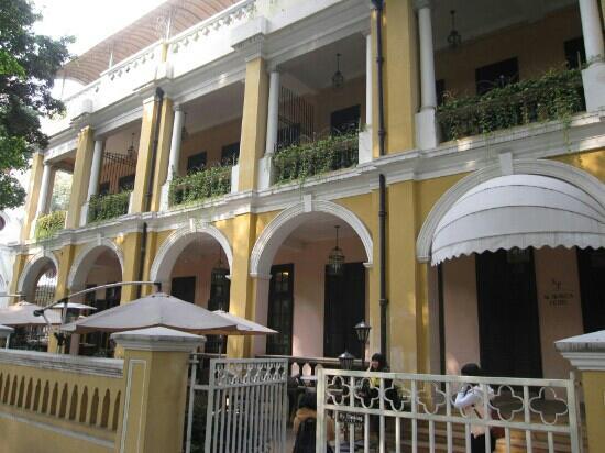 Al Travos Hotel : 一楼餐厅