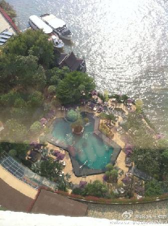 La Residence Bangkok: 窗外景色