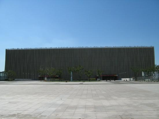 Beijing Olympic Basketball Gymnasium: 五棵松篮球馆