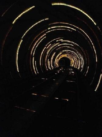 Bund Sightseeing Tunnel: 观光隧道