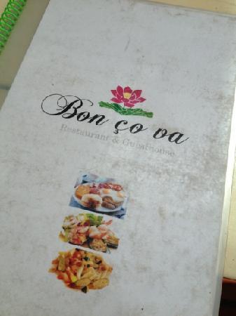 Bon Ca Va : menu