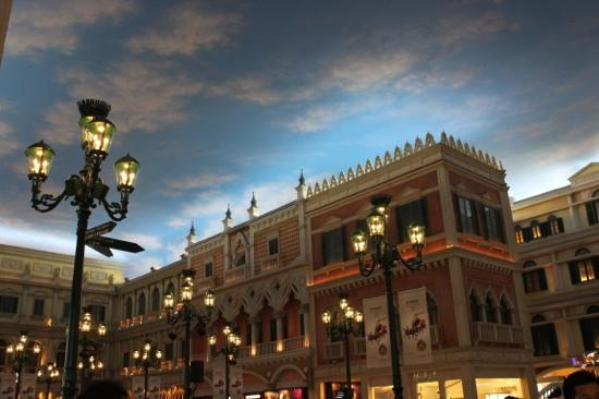 The Venetian Macao Resort Hotel: 人造天幕