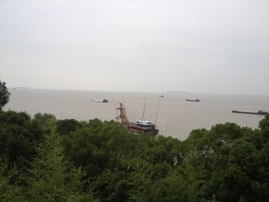 Dongting Lake (Dongtinghu): 黄黄的湖